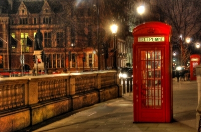 Iconic Red Phone Box