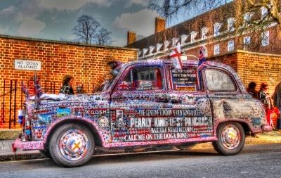 Eccentric London Cab