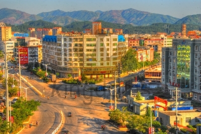 Ningdu Cityscape