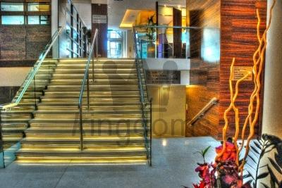 Modern Hotel Foyer