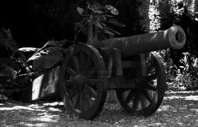 Old British Cannon