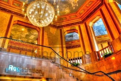 Five Star Hotel Reception