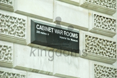 Cabinet War Rooms Sign