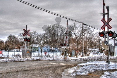 Winter Level Crossing