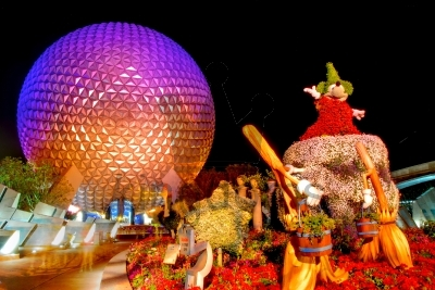 Epcot Geosphere And Mickey