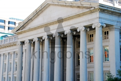 Side Side Of US Treasury