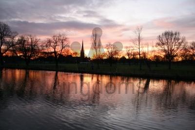 Sunrise, Clissold Park