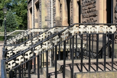 Railings, Glasgow University
