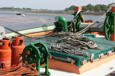 Barge at Maldon, Essex