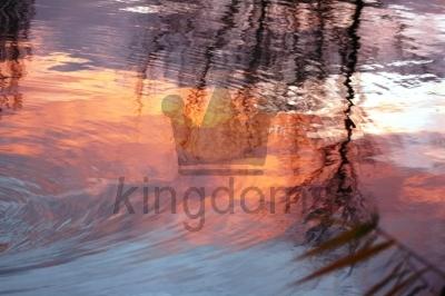 Sunrise In The Lake